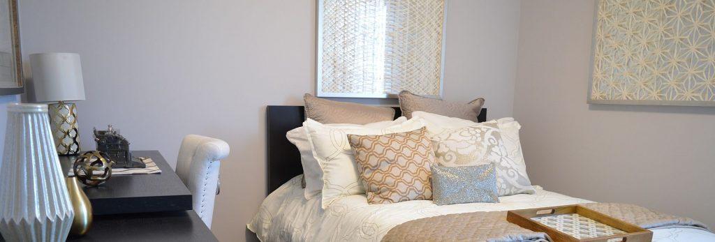 עיצוב וצביעת חדר שינה