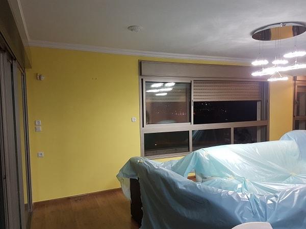מחיר צביעת דירה 3 חדרים